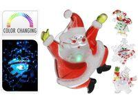 "купить Световая фигурка на окно LED ""Санта-Снежинка-Снеговик"" 9cm в Кишинёве"