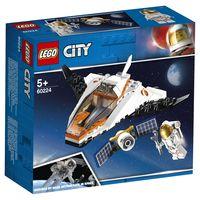 """LEGO City  """"Misiunea de reparare prin satelit"""", art. 60224"""