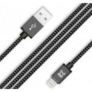 Cable microUSB2.0 1.2m - XtremeMac Reversible microUSB Premium cable, Black