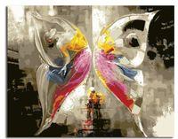 Pictura pe numere 40x50 GX21459 Fluture