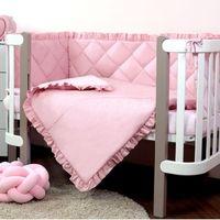 Veres Комплект для кроватки Macaroon Raspberry, 6 штк