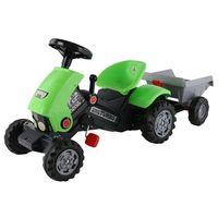 Полесье Трактор с педалями  с полуприцепом Turbo 2