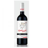 Vinuri de Comrat Funny Lamb ''Каберне Совиньон Фетяска Неагра Мерло'', красное полусладкое, 0.75 Л