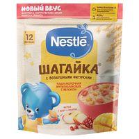 Nestle каша Шагайка мультизлаковая молочная, яблоко, манго, и гранат,12+ мес, 190 гр