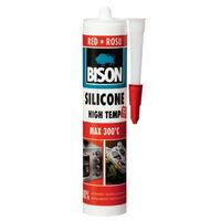 Силикон красный термостойкий 280 мл Bison 8.39