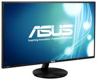 """27"""" ASUS VN279Q, Black (A-MVA, 1920x1080, 5ms, 300cd, LED100M:1, D-Sub, HDMI-MHL, DP, 2x2W)"""