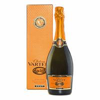 Игристое вино белое брют Château Vartely,  в индивидуальной коробке, 0,75 л