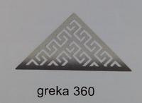 Трап для душа GREKA 360,хром,35см, Evimetal