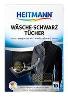 HEITMANN Салфетки для обновления цвета черной одежды, 10 шт.