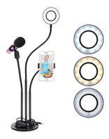 Кольцевая лампа Yikoo PR-38082 Blogger Kit 3 in 1