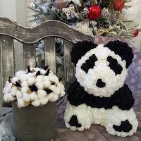 cumpără Panda de trandafiri 3D  40 cm în Chișinău