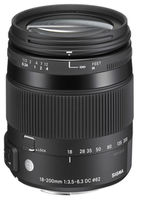 Sigma AF 18-200mm f/3.5-6.3 DC Macro OS HSM Contemporary for Nikon