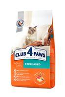 Клуб 4 лапы  для кастрированных кошек,0.300кг