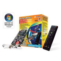 Tuner COMPRO VideoMate E600F Analog TV/FM/Capture card, CX23885, w/PowerUp, Stereo, w/Hardware MPEG-2, PIP/POP, TimeShift, PCI-Ex, w/Remote Control