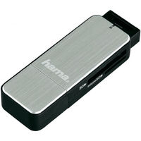 Card Reader Hama , Silver