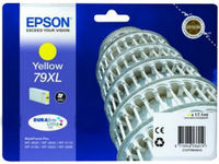 Ink Cartridge Epson T79044010, 79XL DURABrite Ultra Ink, yellow