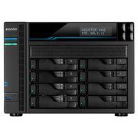 "8-bay NAS Server  ASUSTOR ""AS6508T"", Intel Atom C3538 (Quad-Core) 2.10GHz, 8GB DDR4(Max.32GB), 8x 2.5""/3.5""SATA (Hot Swap), 2x M.2 Slot Caching, LCD Panel, 2x USB3.2 Gen1, LAN: 2x 10GbE, 2x 2.5GbE, AES-NI, EZ Soft, WoL, WoW, IP Cam: <64 (4 Free)"