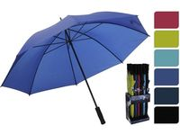 Зонт-трость одноцветный D104cm, 6цветов, двойные спицы