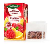 Чай фруктовый Tea Garden Raspberry с лимоном, 20 шт