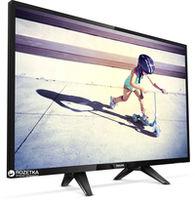 """32"""" LED TV Philips 32PFS4132/12, Black (1920x1080 FHD, PPI 200 Hz, DVB-T/T2/C/S2) (32"""", 81 cm, Black, Full HD, PPI 200Hz, 2 HDMI, 1 USB  (foto, audio, video, USB recording), DVB-T/T2/C/S2, OSD Language: ENG, RO, Speakers 16W, 4.9 Kg, VESA 100x100)"""