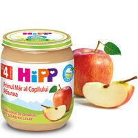 Hipp пюре яблоко, 4+мес. 125г