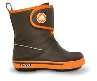 Kids' Crocband II.5 Gust Boot Espresso / Orange