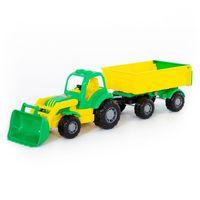 Полесье трактор с прицепом и ковшом Крепыш