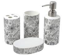 Набор для ванной керамический 4 ед