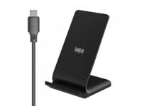 Зарядное устройство беспроводное WK Design Wirelles Fast Charger Vertical 10W, Black