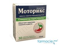 Motoriks comp.film.10 mg N10x3 (domperidonum)