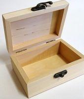 Cutie din lemn 6x9x13cm
