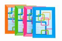 Rama foto din plastic 10X15cm, multicolore