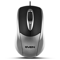 SVEN RX-110, Optical Mouse, 1000 dpi, USB, Silver