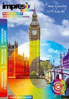 Бумага фото IMPRESO RC Premium glossy А4 260г/м2/20