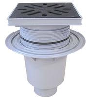 cumpără Sifon pardoseala reglabil dn110 (interior) HL616W/1(240 x 240mm fonta)7,0 t în Chișinău