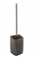 Гарнитур для туалета Graz акрил серый прямоугольный Axentia 131082