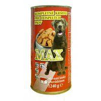 Корм для собак Max с говядиной 1,250gr