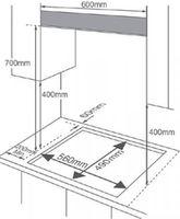 Газовая панель Midea MG696TRI-B