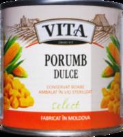 Сладкая кукуруза консервированная Vita 400гр ж/б