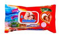 Салфетки влажные Freshmaker Extra с крышкой 60 шт.
