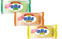 Мыло твердое ОДА,марка К,65г облепиха ,шиповник ,мелисса, чистотел, шалфей