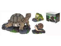 купить Черепаха/лягушка/улитка на камне H15cm, 19X14.5cm в Кишинёве