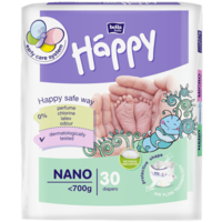 Подгузники для недоношенных и маловесных детей Bella Happy Nano (до 700 гр)