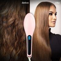 Расческа для выпрямления волос FastHairStraightner HQT906