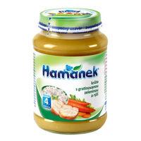 Hamanek пюре индейка с овощами и рисом 4+ мес., 190 г