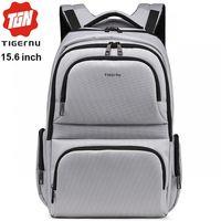 """Городской рюкзак Tigernu T-B3140 для ноутбука 15.6"""", водонепроницаемый, коричневый"""