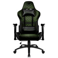 Gaming Chair Cougar ARMOR ONE X  Black/Green, User max load up to 120kg / height 145-180cm