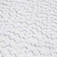 Мозаика Мраморная Тасос 3D Scapitata 2,8 х 2,8 см