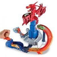 Mattel Hot Wheels Игровой набор Атака дракона