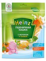 Heinz Пшеничная кашка с молоком и тыквой (5m+)